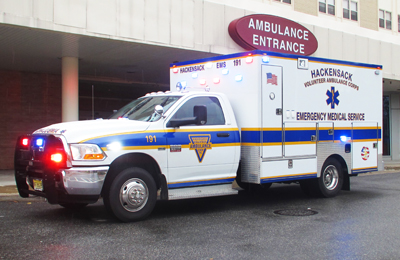 Hackensack Volunteer Ambulance 191