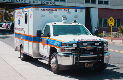 Volunteer Ambulance In Hackensack