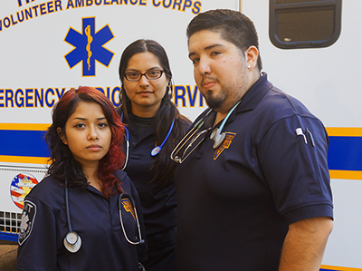 Hackensack Volunteer Ambulace Corps Members
