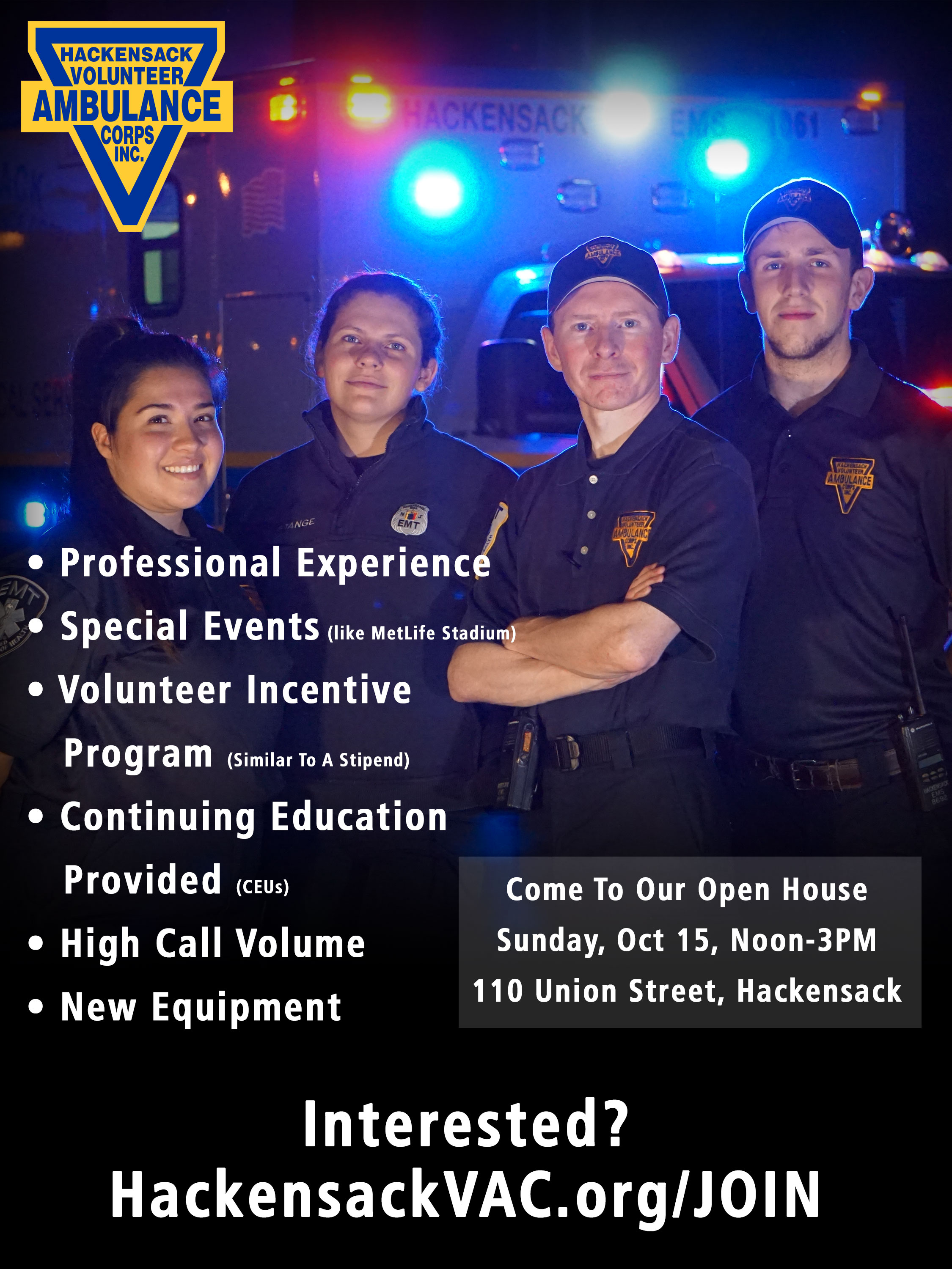 Open House, October 15, 2017